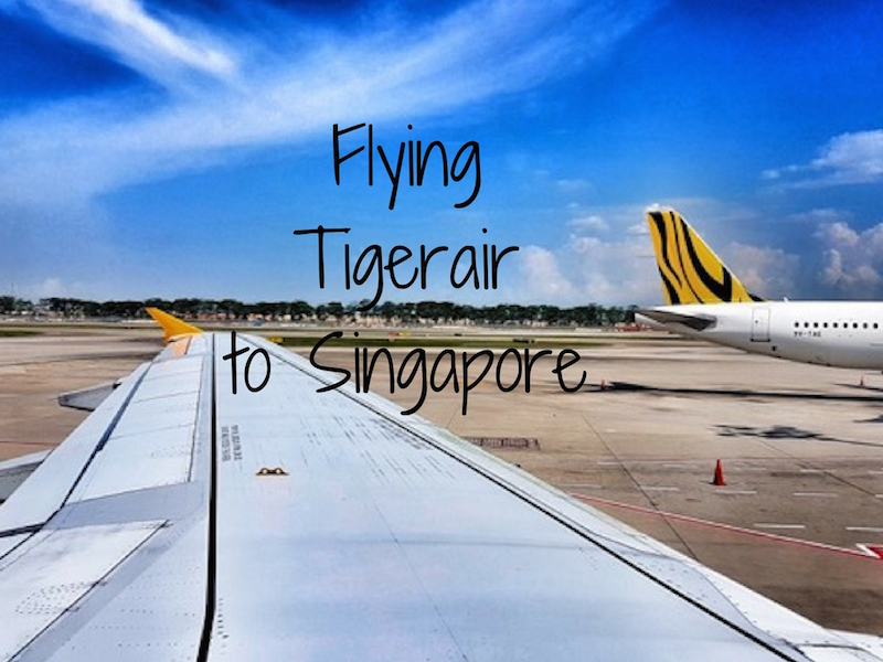 tigerair to singapore