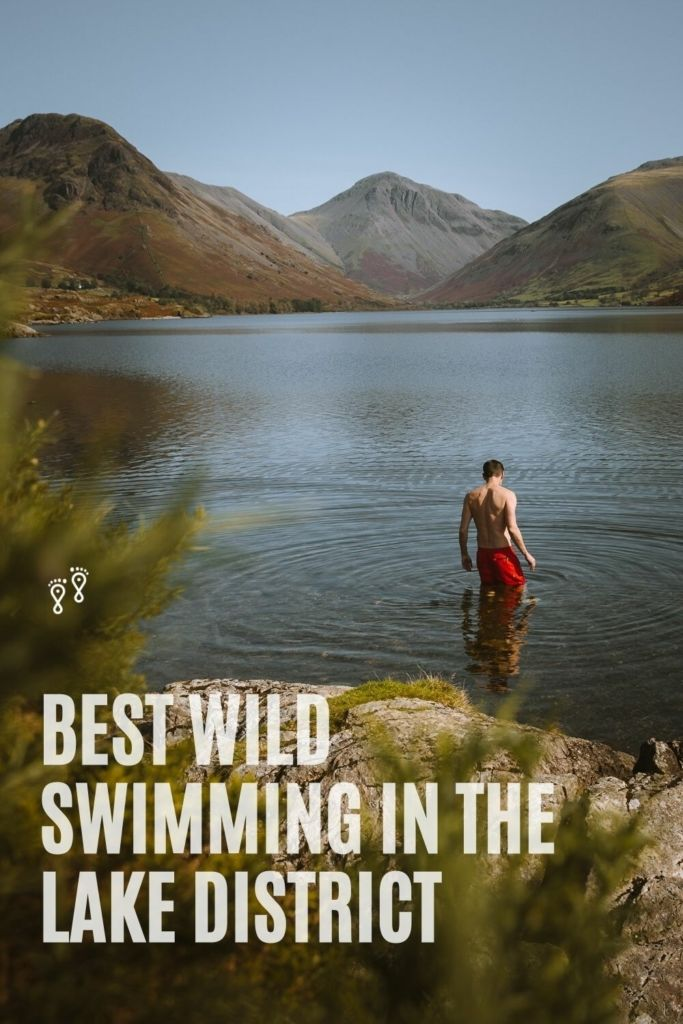 With misty lakes, meandering rivers and hidden tarns, there are hundreds of places to wild swim in the Lake District. Here's our top 8 remote spots for losing the crowds and discovering some amazing wild swimming in the Lake District. #lakedistrict #wastwater #bleatarn #blackmosspot #sprinklingtarn #ryadalwater #eskdalepots #loughriggtarn #wildswimming