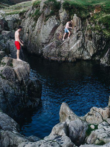 Lake District Swimming, Black Tarn Pot