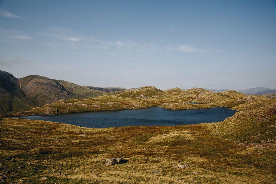 Lake District wild swimming, Sprinkling Tarn