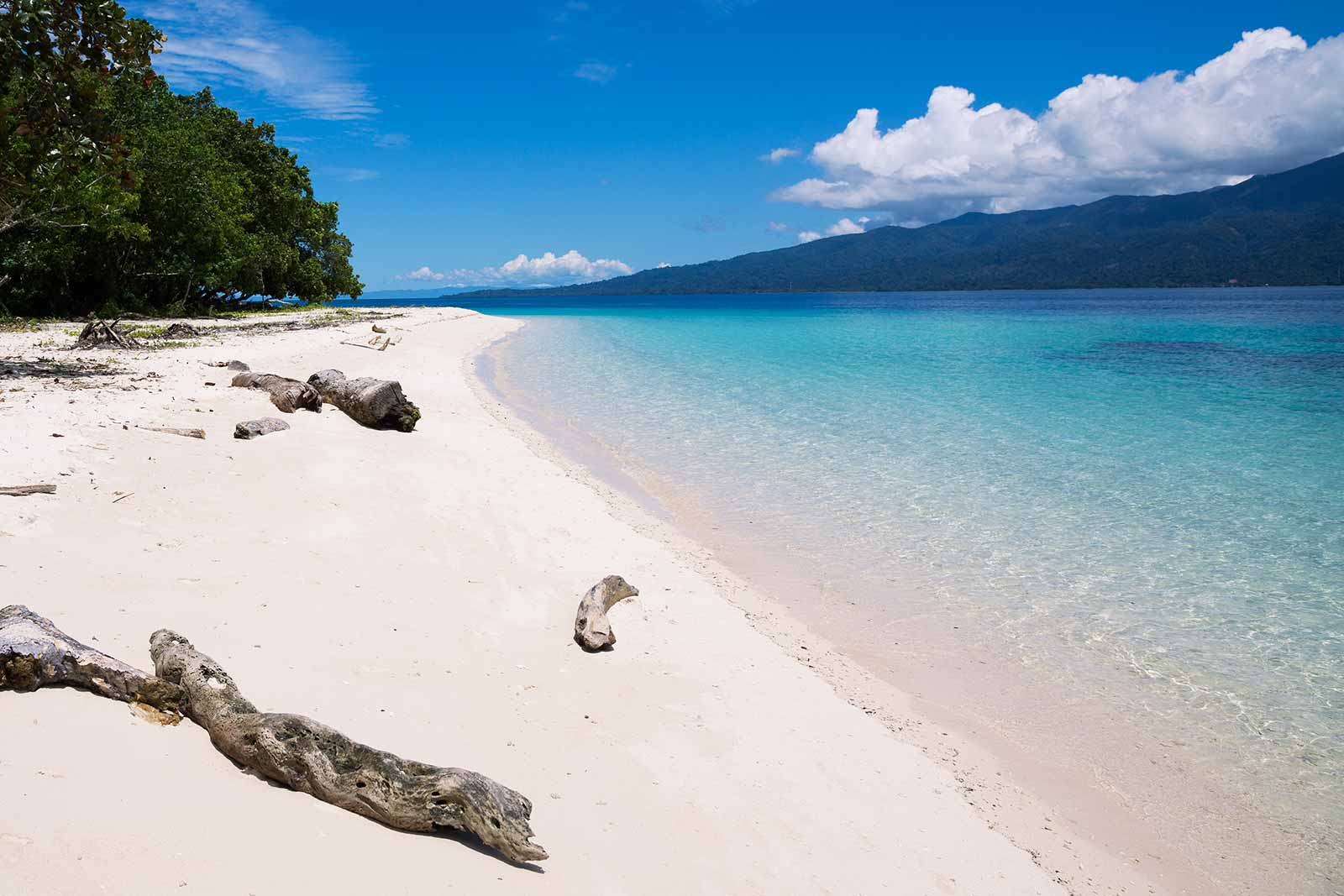 Maluku Islands: Saparua offers the best beaches with crystal clear water with pretty much no one around.